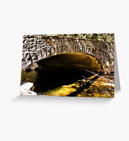 Tanaya Creek Bridge Greeting Card