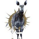 « Watercolor Okapi » par Threeleaves