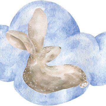 Bunny on Cloud Nine  by thedailybunnies