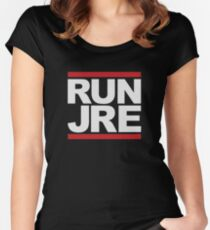 Run JRE  Women's Fitted Scoop T-Shirt