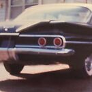 back shot 1961 chevy Belaire by cdcantrell