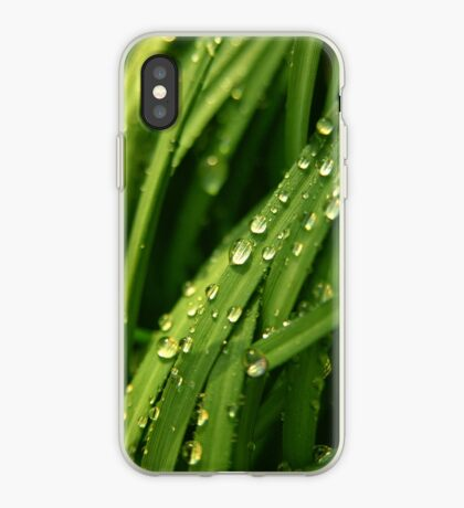 Green waterfall (iPhone case) iPhone Case