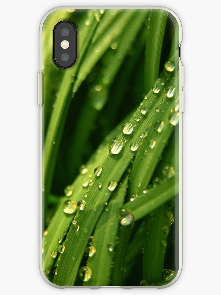 Green waterfall (iPhone case) by Lenka