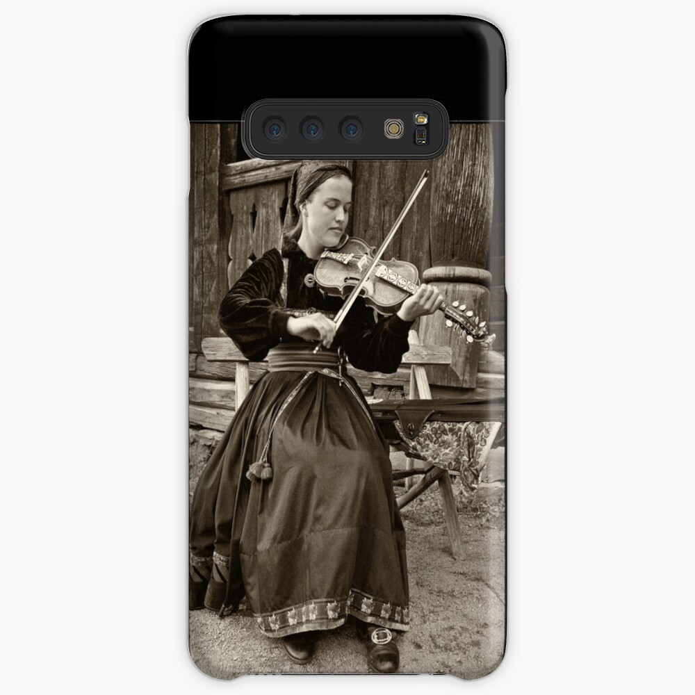 Hardanger fiddle player Case & Skin for Samsung Galaxy