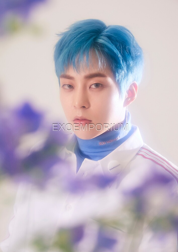 Quot Exo Cbx Blooming Days Xiumin Quot By Exoemporium Redbubble