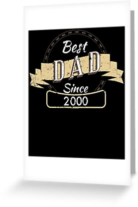 Best Dad 2000 Funny T Shirt For Dad by shoppzee