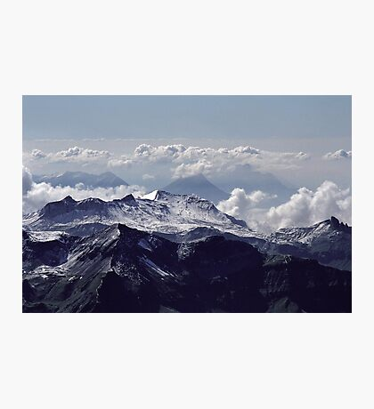 Heavenly view, Bernese Alps Photographic Print