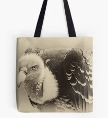 Rueppell's Vulture: After a shower Tote Bag