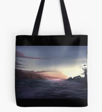 Docks Waterfront Tote Bag