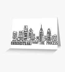 Philly Slang Greeting Card