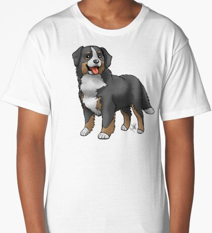 Bernese Mountain Dog Long T-Shirt