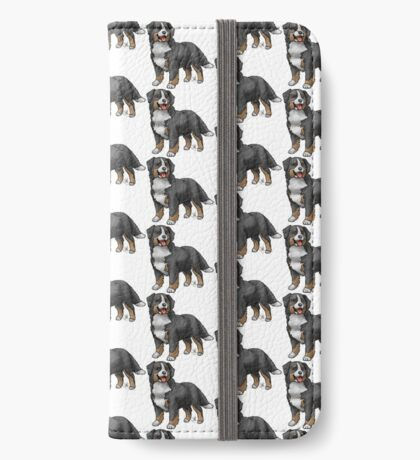 Bernese Mountain Dog iPhone Wallet