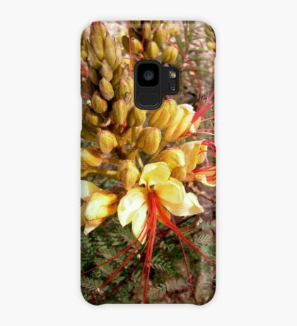 Yellow and Red flower Case/Skin for Samsung Galaxy