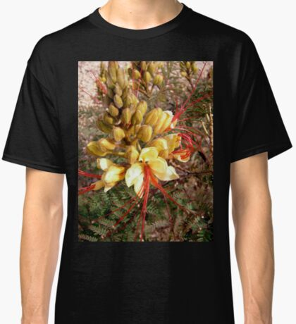 Yellow and Red flower Classic T-Shirt