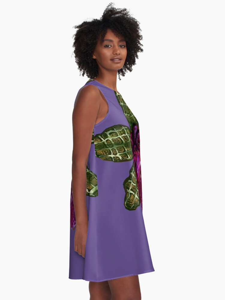 Alternate view of Pinque and Purrple A-Line Dress