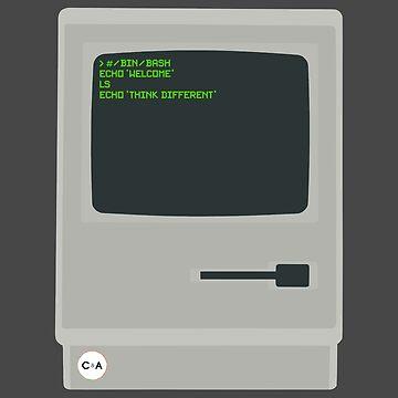 Macintosh Fanart - C&A by ColorandArt-Lab