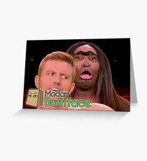 Asia O'Hara   Madam Butterface   RuPaul's Drag Race Season 10 Greeting Card
