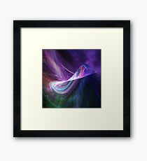 Infinity Universe Abstract Art Framed Print