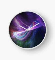Infinity Universe Abstract Art Clock