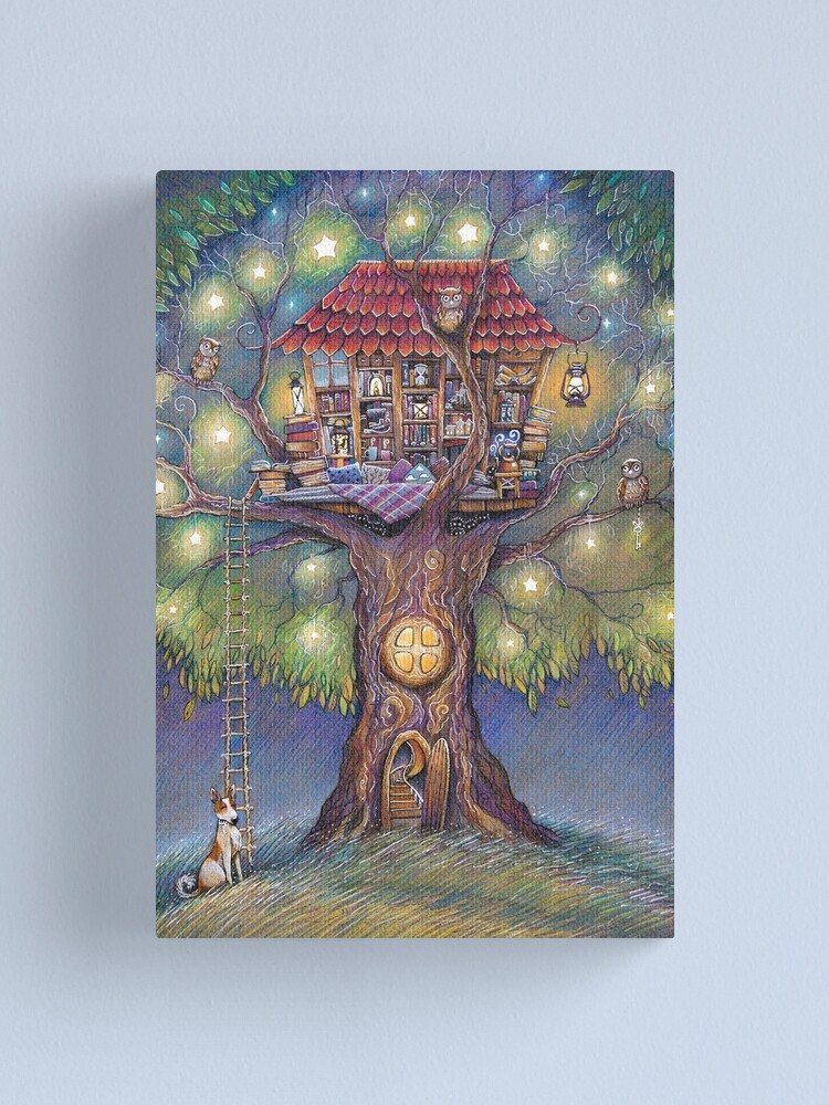 Alternate view of Tree House Canvas Print