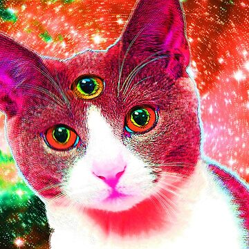 Third-eye-Cat by lord-sativa