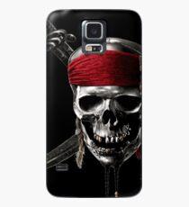 Funda/vinilo para Samsung Galaxy Skull Pirates of the Caribbean