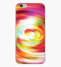 Colour Distortion Abstract iPhone Case