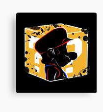Mario Block Canvas Print