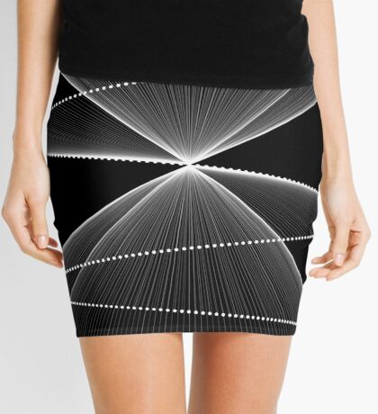 Lissajous XXVI Mini Skirt