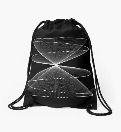 Lissajous XXVI Drawstring Bag