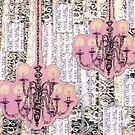 Chandeliers and Lace by zoe trap