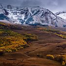 Fresh Snow In Fall by John  De Bord Photography