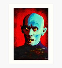 Horror Icons: Mr Barlow - Salem's Lot  Art Print