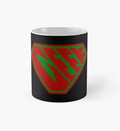 Geek SuperEmpowered (Red and Green) Mug