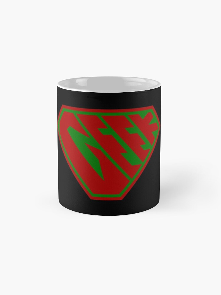 Alternate view of Geek SuperEmpowered (Red and Green) Classic Mug