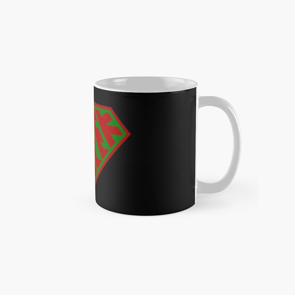 Geek SuperEmpowered (Red and Green) Classic Mug