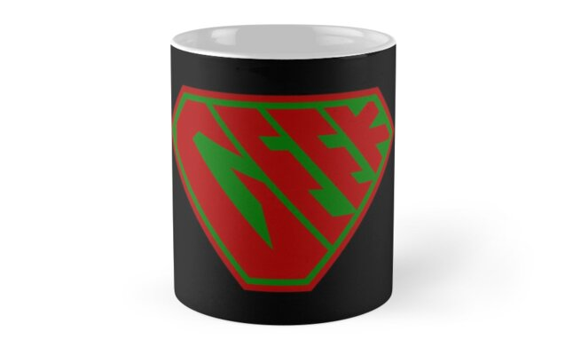 Geek SuperEmpowered (Red and Green) by Carbon-Fibre Media