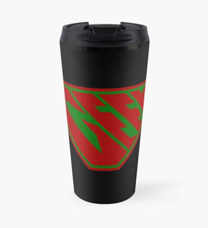 Geek SuperEmpowered (Red and Green) Travel Mug