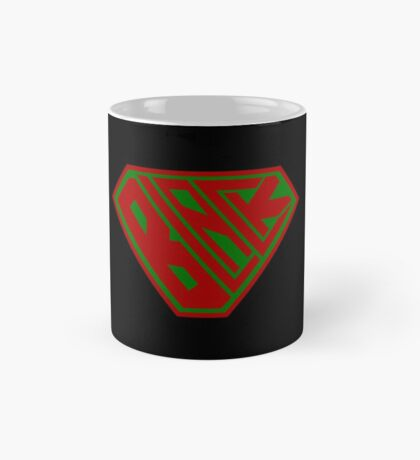 Black SuperEmpowered (Red and Green) Mug