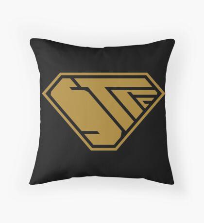 STPC SuperEmpowered (Gold) Throw Pillow