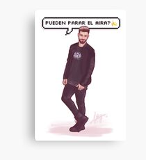 Agoney - OT2017 Canvas Print