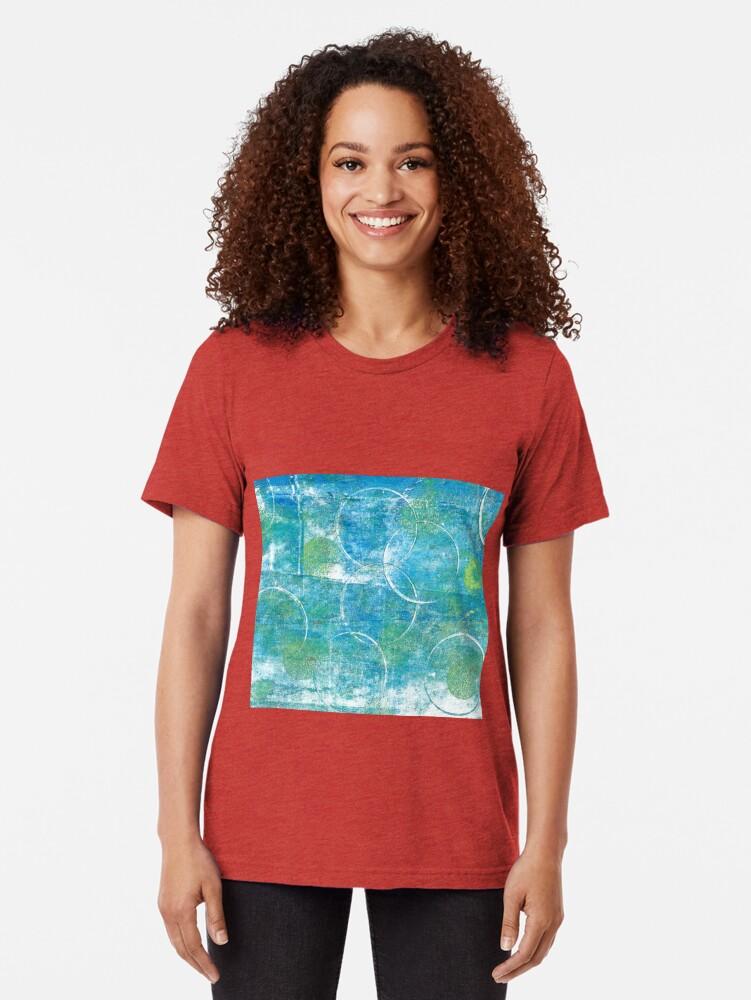 Alternate view of Mono Test - Scan Tri-blend T-Shirt