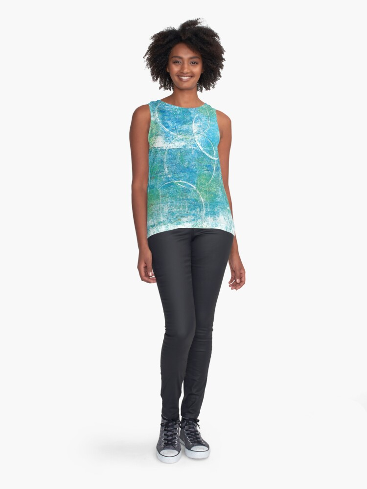 Alternate view of Mono Test - Scan Sleeveless Top