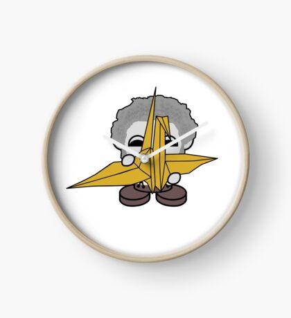 STPC: Grandpa Yo O'BOT Toy Robot (Origami Crane) Clock