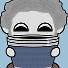 STPC: Grandpa Yo O'BOT Toy Robot (Travel Mug) by Carbon-Fibre Media