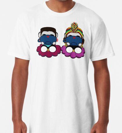 STPC: Naka Do & Oyo Yo (Sipping Tea) Long T-Shirt