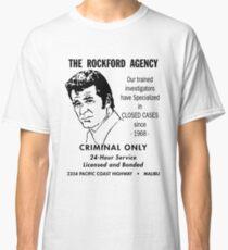 the Rockford Agency flyer t shirt rockford files 70's TV Classic T-Shirt