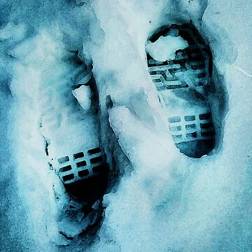 Footprints in the Snow by CreativeBytes