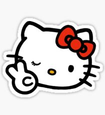 Hello kitty-lucky Sticker