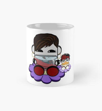 STPC: Flex & TaTa O'BOT Toy Robots (Wine and Bottle) Mug